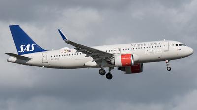 SE-ROG - Airbus A320-251N - Scandinavian Airlines (SAS)