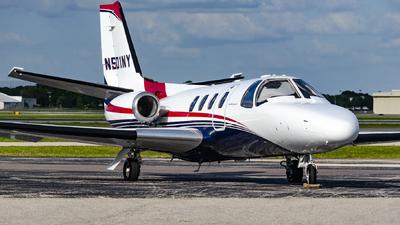 N501NY - Cessna 501 Citation SP - Private