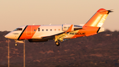 VH-XNC - Bombardier CL-600-2B16 Challenger 604 - Australia - Maritime Safety Authority (MSA)