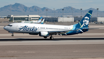 A picture of N552AS - Boeing 737890 - Alaska Airlines - © Yan777