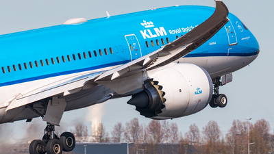 PH-BHE - Boeing 787-9 Dreamliner - KLM Royal Dutch Airlines