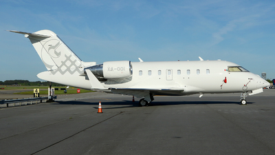 XA-OOI - Bombardier CL-600-2B16 Challenger 650 - Private