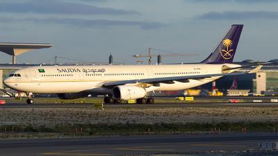 A picture of HZAQ26 - Airbus A330343 - Saudia - © Turkay Oksuz
