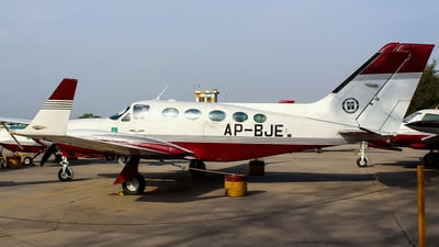 AP-BJE - Cessna 414A Chancellor - Private