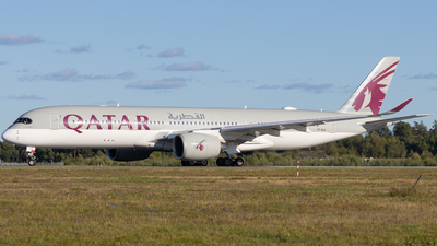 A picture of A7ALA - Airbus A350941 - Qatar Airways - © Rickard Andersson