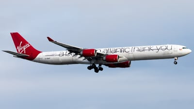 G-VNAP - Airbus A340-642 - Virgin Atlantic Airways