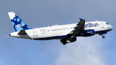 N629JB - Airbus A320-232 - jetBlue Airways