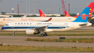 A picture of B6291 - Airbus A320214 - China Southern Airlines - © Patrick-ZHOU