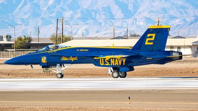 165665 - Boeing F/A-18E Super Hornet - United States - US Navy (USN)