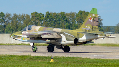 RF-95135 - Sukhoi Su-25SM Frogfoot - Russia - Air Force
