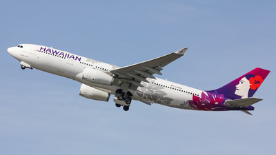 A picture of N386HA - Airbus A330243 - Hawaiian Airlines - © Graham H