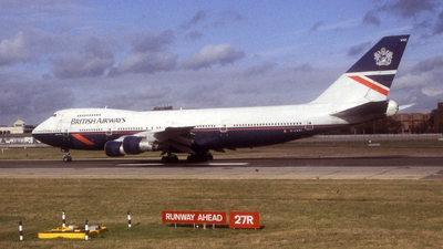 G-AWNO - Boeing 747-136 - British Airways