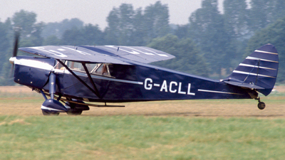 G-ACLL - De Havilland DH-85 Leopard Moth - Private