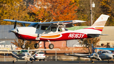 A picture of N6163Y - Cessna T206H Turbo Stationair - [T20608819] - © SpotterPowwwiii