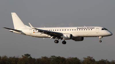 D-AEMG - Embraer 190-100LR - Augsburg Airways