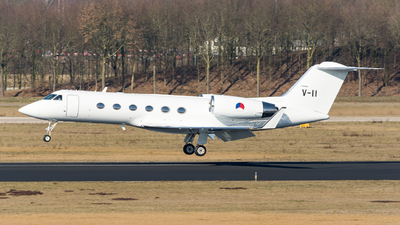 V-11 - Gulfstream G-IV - Netherlands - Royal Air Force