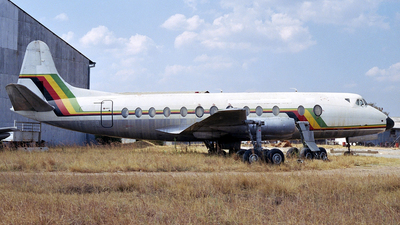 Z-WGB - Vickers Viscount 748D - Air Zimbabwe