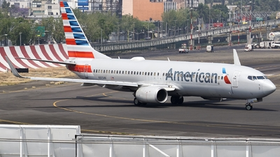 A picture of N805NN - Boeing 737823 - American Airlines - © Mauri_0307