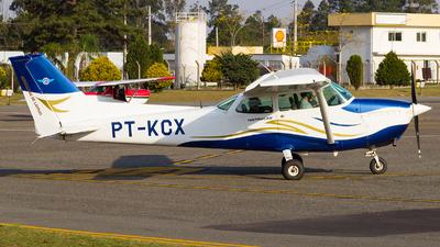 PT-KCX - Cessna 172M Skyhawk - Aeroclube de Lavras