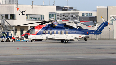A picture of LNOQC - Sikorsky S92A - CHC Helikopter Service - © R.Rimestad