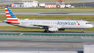 A picture of N554UW - Airbus A321231 - American Airlines - © Jordan Louie