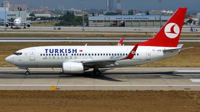 TC-JKK - Boeing 737-752 - Turkish Airlines