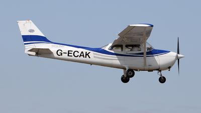 G-ECAK - Reims-Cessna F172M Skyhawk - Anglian Flight Centre
