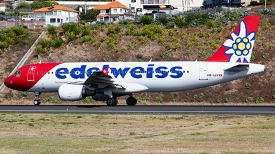 A picture of HBIJV - Airbus A320214 - Edelweiss Air - © Nelson Sousa
