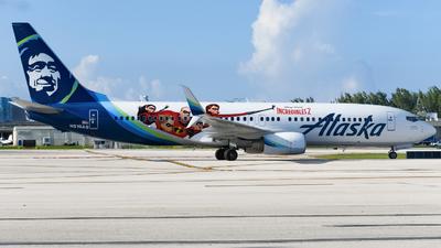 N519AS - Boeing 737-890 - Alaska Airlines