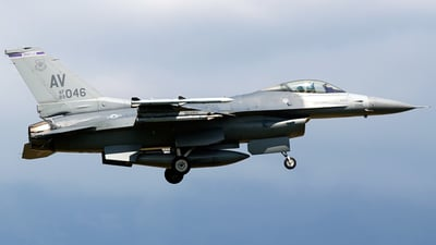 89-2046 - General Dynamics F-16C Fighting Falcon - United States - US Air Force (USAF)