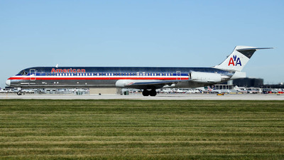 N436AA - McDonnell Douglas MD-82 - American Airlines