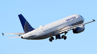 N481UA - Airbus A320-232 - United Airlines