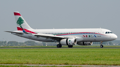 T7-MRF - Airbus A320-232 - Middle East Airlines (MEA)