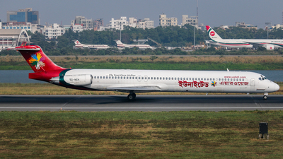 A picture of S2AEH - McDonnell Douglas MD83 - [49937] - © Samaul Haque Tasdid