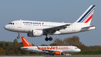 F-GUGL - Airbus A318-111 - Air France