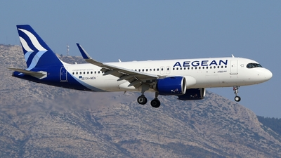 A picture of SXNEA - Airbus A320271N - Aegean Airlines - © Stamatis Alipasalis