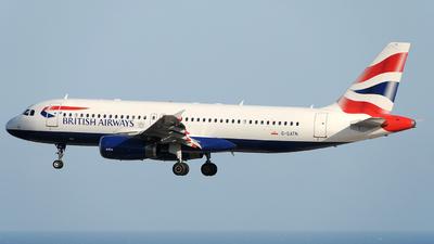 G-GATN - Airbus A320-232 - British Airways