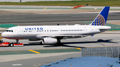 N480UA - Airbus A320-232 - United Airlines