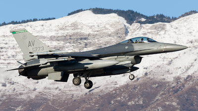90-0773 - General Dynamics F-16CG Fighting Falcon - United States - US Air Force (USAF)