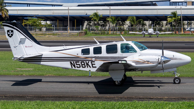 N58KE - Beechcraft 58 Baron - Private