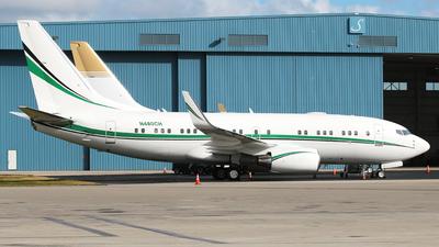 N480CH - Boeing 737-72T(BBJ) - Private