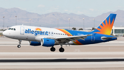 N334NV - Airbus A319-111 - Allegiant Air