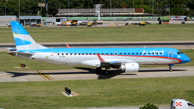 LV-CDY - Embraer 190-100IGW - Austral Líneas Aéreas