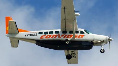 A picture of YV3033 - Cessna 208B Grand Caravan - [208B5140] - © Nito