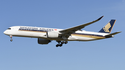 9V-SMN - Airbus A350-941 - Singapore Airlines