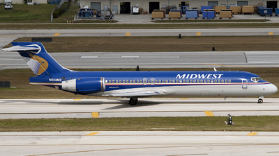 N928ME - Boeing 717-2BL - Midwest Airlines
