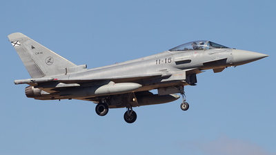 C.16-40 - Eurofighter Typhoon EF2000 - Spain - Air Force
