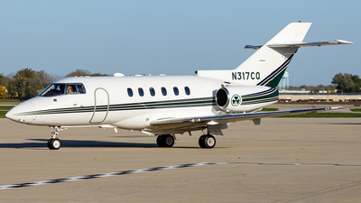 N317CQ - Raytheon Hawker 800XP - Private