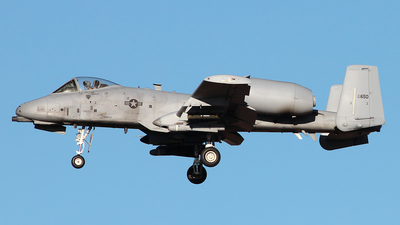 82-0650 - Fairchild A-10C Thunderbolt II - United States - US Air Force (USAF)