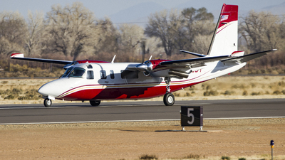 N425DT - Rockwell 690B Turbo Commander - Spurr Mountains Aviation